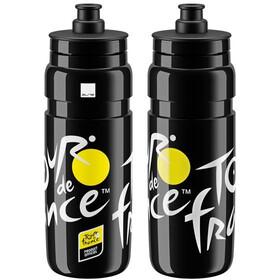 Elite Fly Tour De France Logo Drinking Bottle 750ml, black